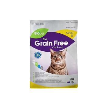 Biopet bio grain free cat food 3kg
