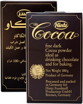 Hintz Coco Powder 2X100g
