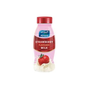 Almarai fresh flavoured milk strawberry 180ml
