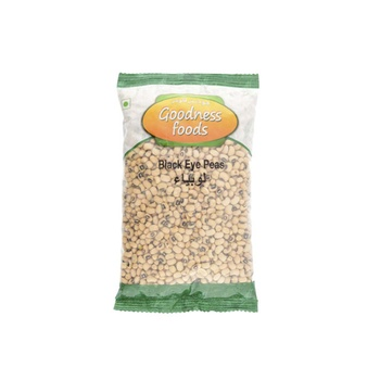 Goodness Foods Black Eye Peas 500g