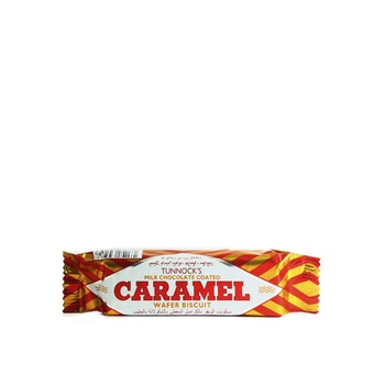 Tunnocks Caramel Wafer Biscuits 30g