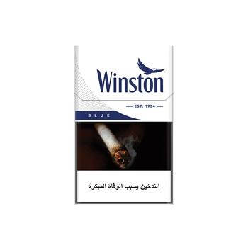 Winston Cigarettes Blue 20's