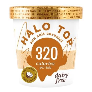 Halo Top Dairy Free Sea Salt Caramel 473ml
