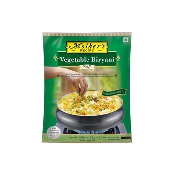 Mothers Recipe Ready To Cook Veg Biryani 75g