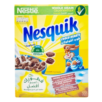 Nesquik Choco Hearts 335g
