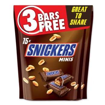 Snickers Minis Pouch 2 x 225g