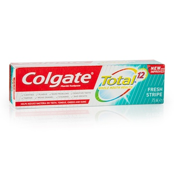 Colgate Total 12 Fresh Stripe Toothpaste 75ml