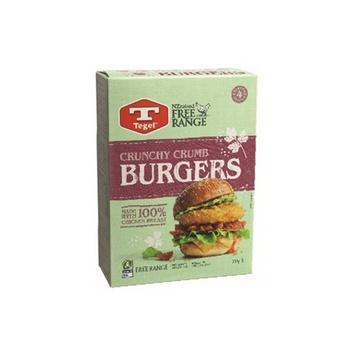Tegel Curnchy Chicken Burgers 355g