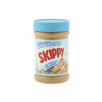 Skippy peanut butter creamy reduced fat 16.3oz