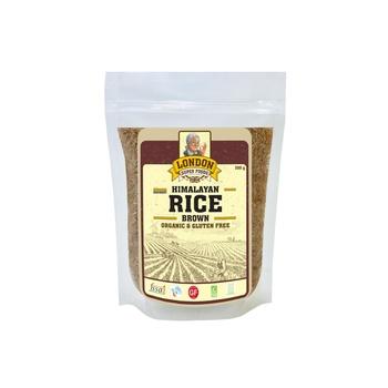 London Superfoods Organic Brown Basmati Rice Gluten Free 350g