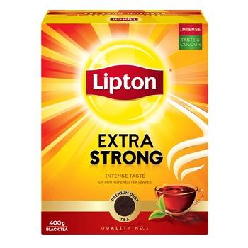 Lipton Extra Strong Black Tea 400g