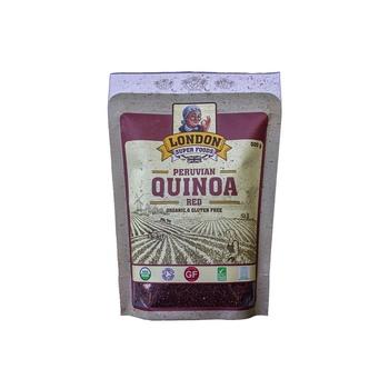 London Super Foods Organic Gluten Free Red Quinoa 500g