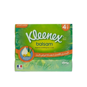 Kleenex Balsam Facial Tissues 56s