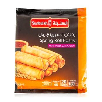 Sunbulah Spring Roll W/Wheat 160g
