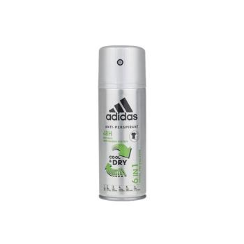 Adidas 6 In 1 Male Deodorant 150ml