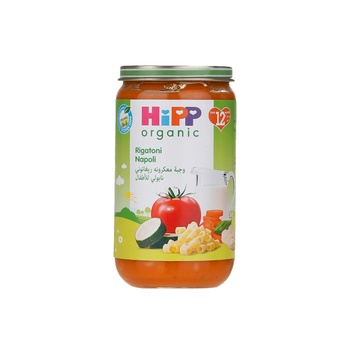 Hipp Organic Baby Food Rigatoni Napoli 250g