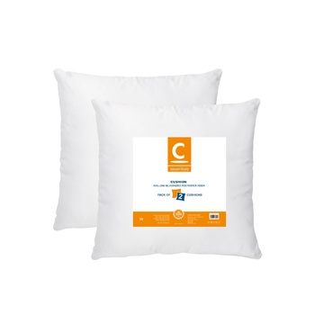Microfiber Cushion With Zip Cover (Assorted)