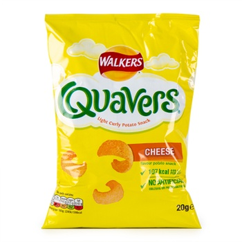 Walkers Quavers Cheese 20.5g