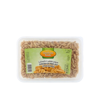 Goodness Foods Sinobar Peeled -Pak (B) 200 g