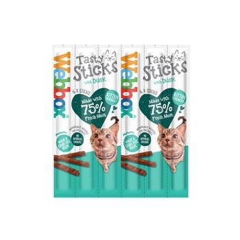 Webbox Cat Treat Tasty Sticks Duck 30g (6 Pcs)
