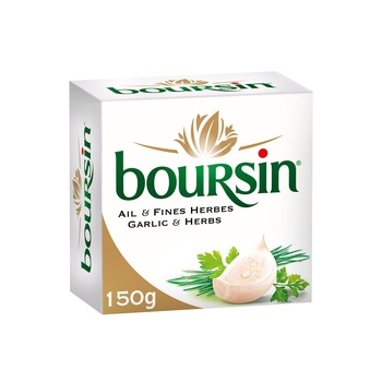 Boursin Soft Cheese Garlic and Herbs 150g