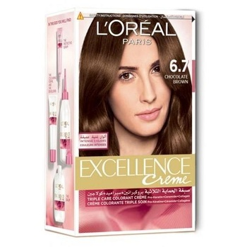 Loreal Excellence 6.7 Chocolate Brown