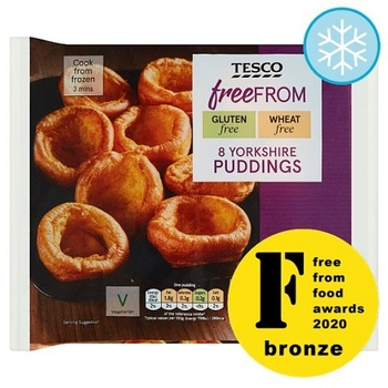 Tesco Free From 8 Yorkshire Pudding 124g