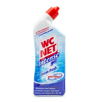 WC Net Intense Toilet Cleaner Gel Ocean Fresh Scent 750ml