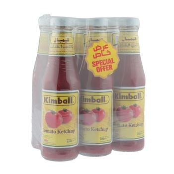Kimball Tomato Ketchup 6 x 325g