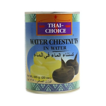 Thai Choice Water Chestnuts In Water 565g
