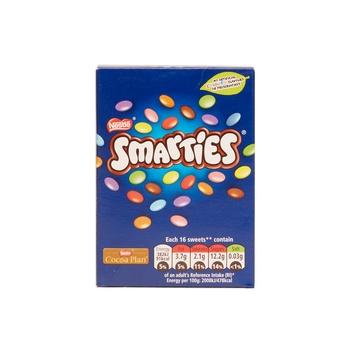 Nestle Smarties Cartons 120g