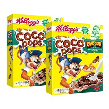 Kellogg's Chocos 2x375g @25%+Bowl