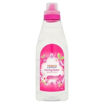 Tesco Ironing Water Spring Petals 1L