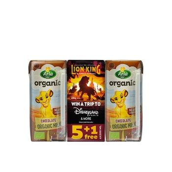 Arla Organic Chocolate Milk 6x200ml
