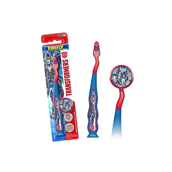 Firefly Trans Travel Kit Toothbrush with Cap