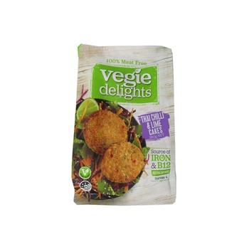 Vegie Delights Thai Chilli & Lime Cakes Meat Free 280g