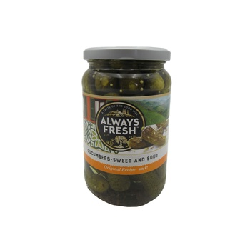 Always Fresh Cucumbers - Sweet And Sour 680g