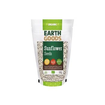 Earth Goods Organic Sunflower Seeds 340g