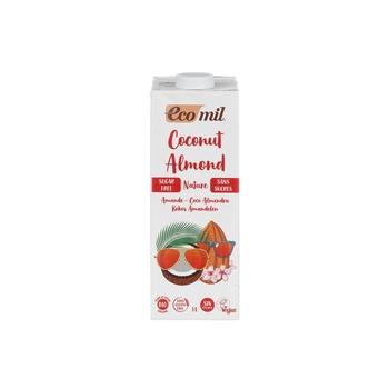 Ecomil Coconut & Almond Milk Sugar Free Bio 1ltr