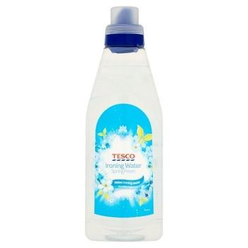 Tesco Ironing Water Spring Fresh 1L