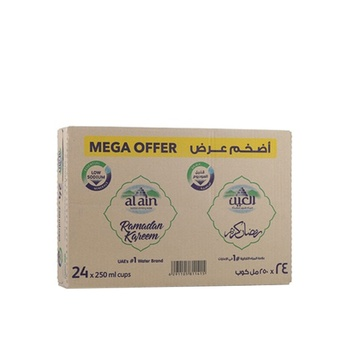 Al Ain Water 24 x 250ml @ Special Price