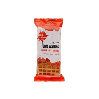 Well Monte Waffles Double Soft Caramel 120g