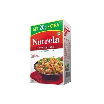 Ruchi 100% Veg Nutrela Soya Chunks 200g