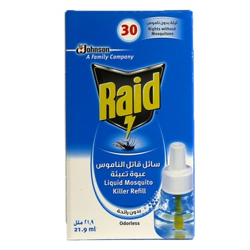 Johnson Raid Liquid Mosquito Killer Refill 21.9 ml