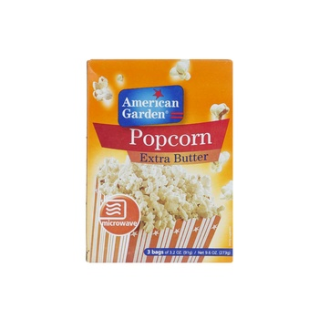 American Garden Microwave Popcorn Extra Butter