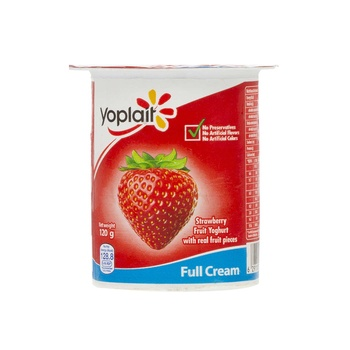 Yoplait Fruit Yoghurt Strwberry 120g