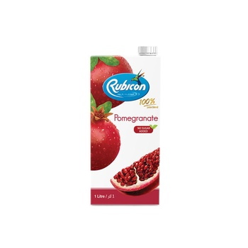 Rubicon Pomegranate Juice Drink No Sugar Added 1ltr