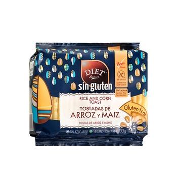 Diet Radisson Rice and Corn Toast 100g