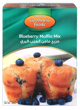 Goodness Foods Blueberry Muffin Mix 450g
