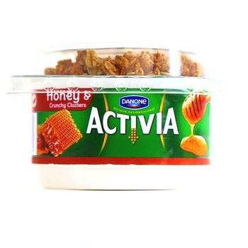 Danone Activia Honey & Crunchy Cluster Yoghurt 160g